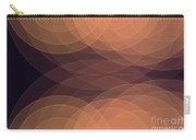 Soul Semi Circle Background Horizontal Carry-all Pouch
