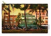 South Beach Ocean Drive Carry-all Pouch