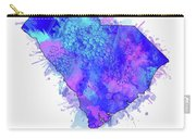 South Carolina Map Watercolor 2 Carry-all Pouch