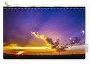South Central Nebraska Sunset 008 Carry-all Pouch