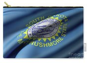 South Dakota State Flag Carry-all Pouch