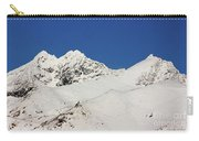 South Island White Peaks Carry-all Pouch