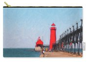 South Pier Of Grand Haven Carry-all Pouch