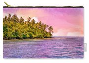 South Seas Sunset Carry-all Pouch