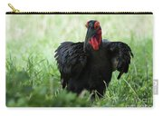 Southern Ground Hornbill Eating An Insect In Tarangire Carry-all Pouch