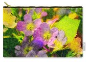 Southern Missouri Wildflowers 1 - Digital Paint 2 Carry-all Pouch
