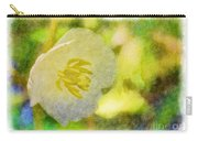 Southern Missouri Wildflowers - Mayapples Bloom - Digital Paint 2 Carry-all Pouch