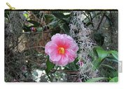 Southern Pink Camellia Carry-all Pouch
