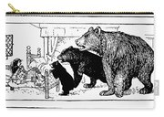 Southey: Three Bears, 1892 Carry-all Pouch