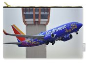 Southwest 737-7l9 N7816b Coco Phoenix Sky Harbor November 30 2017 Carry-all Pouch