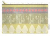 Southwest Cactus Decorative- Art By Linda Woods Carry-all Pouch by Linda Woods