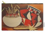 Southwest Pottery Carry-all Pouch