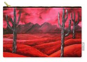 Southwestern Abstract Oil Painting Carry-all Pouch