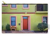Southwestern - Architecture - Barrio Viejo Carry-all Pouch