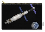 Soyuz Deep Space Explorer Docked Begins Carry-all Pouch