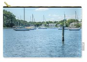 Spa Creek In Blue Carry-all Pouch