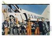 Space: Astronauts, C1961 Carry-all Pouch
