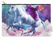 Space Sloth On Unicorn - Sloth Pizza Carry-all Pouch