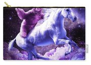 Space Sloth Riding On Unicorn Carry-all Pouch