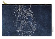 Space Suit Patent Illustration Carry-all Pouch