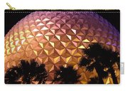 Spaceship Earth Shimmers Carry-all Pouch