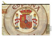 Spain Coat Of Arms Carry-all Pouch by Debbie DeWitt