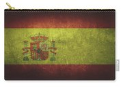 Spain Distressed Flag Dehner Carry-all Pouch