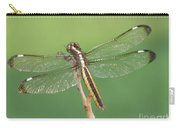 Spangled Skimmer Dragonfly Female Carry-all Pouch