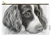Spaniel Drawing Carry-all Pouch