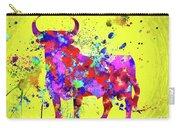 Spanish Bull  Toro Bravo Carry-all Pouch