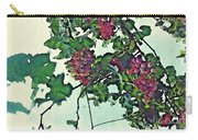 Spanish Grapes Carry-all Pouch by Sarah Loft