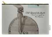 Spanish Lock Carry-all Pouch