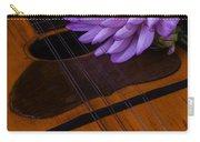 Spanish Mandolin And Dahlia Carry-all Pouch