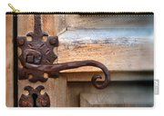 Spanish Mission Door Handle Carry-all Pouch by Jill Battaglia