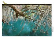 Spanish Moss And Emerald Green Water Carry-all Pouch