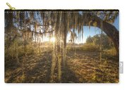 Spanish Moss Curtain Sunrise Carry-all Pouch