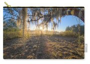 Spanish Moss Sunrise Carry-all Pouch
