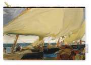 Spanish Playa De Valencia Carry-all Pouch