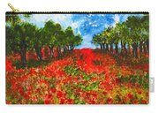 Spanish Poppies Carry-all Pouch