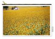 Spanish Sunflowers Carry-all Pouch