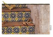 Spanish Tile Stair  Carry-all Pouch