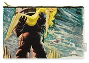 Spanish Version Of Forbidden Planet In Cinemascope Retro Classic Movie Poster Carry-all Pouch