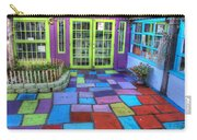 Spanish Village Art Center Carry-all Pouch
