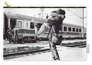 Sparkle At The Train Station - Ballpoint Pen Art Carry-all Pouch