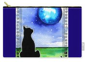 Sparkling Blue Bauble - Christmas Cat Carry-all Pouch
