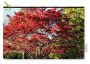 Sparkling Japaneese Maple Tree Carry-all Pouch