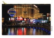 Sparkling Las Vegas Neon - Planet Hollywood Carry-all Pouch