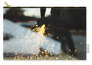 Sparks From Cutting Metal Carry-all Pouch