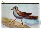 Sparrow On A Branch Carry-all Pouch