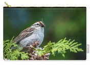 Sparrow With Lunch Carry-all Pouch